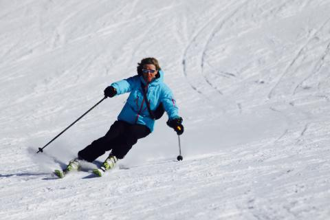 Ski lesson in Megeve : Carving