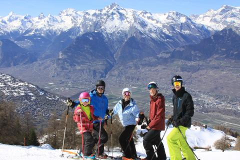Group ski lessons with Megeve Ski Escape Ski School