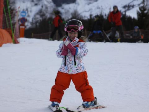 Kids ski tuition in Megeve