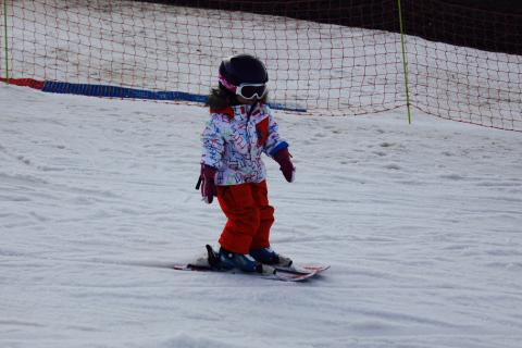 Kid enjoy to ski with Megeve Ski Escape