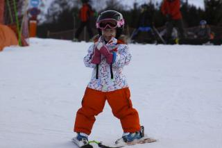 Kids ski lessons in Megeve